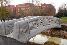 Под Мадридом открыт первый в мире мост, напечатанный на 3D-принтере.
