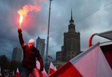 Еврокорректность в шоке от белого марша в Варшаве.