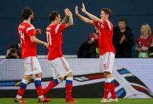На чемпионате мира по футболу России первые соперники. оказались «проходными».