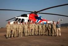 Вертолеты снова улетают на экспорт.