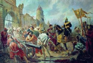 Из хроники войны Ивана Грозного за Прибалтику.