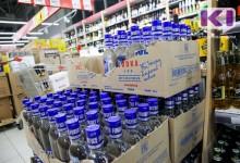 Топ-5 регионов России по продажам алкоголя.