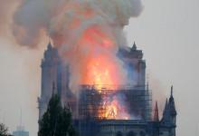 Символ Радостной вести Христа посылает теперь печальную весть безбожникам Парижа и Франции.