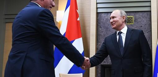 СССР забыт: как президент Кубы договаривался с Путиным.