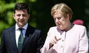 «Меркель ничего не делает» для Украины: как Зеленский подставил Германию.