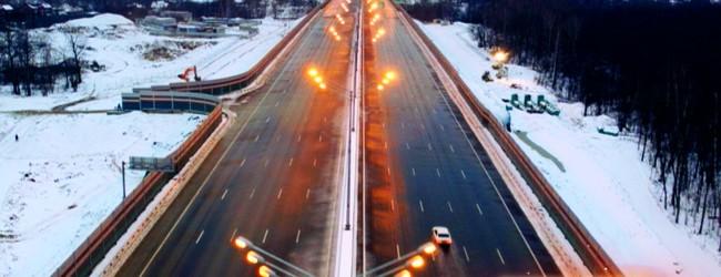 Печали и радости дорожного прогресса на трассе М-11 Москва – Санкт-Петербург.