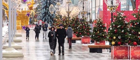 Москва стала одним из мировых лидеров новогоднего туризма.